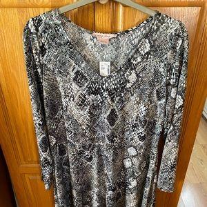 Love & Legend snake print dress